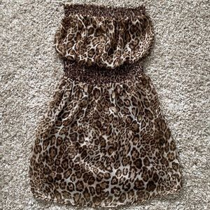 Costa Blanca Leopard Print Dress